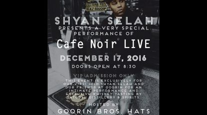 Shyan Selah Performance at Goorin Bros. Hats Seattle